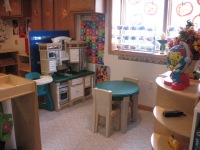 Awesome Beginnings Childcare Dramatic Play Area