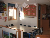 Awesome Beginnings Childcare Art/Dining Area
