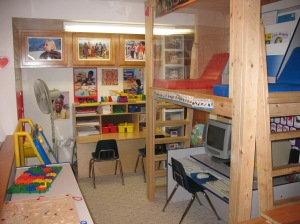 Awesome Beginnings Childcare Preschool Area  and Reading Loft