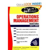 Schaum's Outlines of Operations Management by Joseph G. Monks