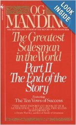 The Greatest Salesman in the World Part 2 by Og Mandino