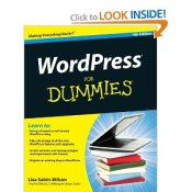 WordPress for Dummies by Lisa Sabin-Wilson