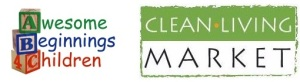 Awesome Beginnings 4 Children and Clean Living Market Logos