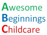 Awesome Beginnings Childcare Logo